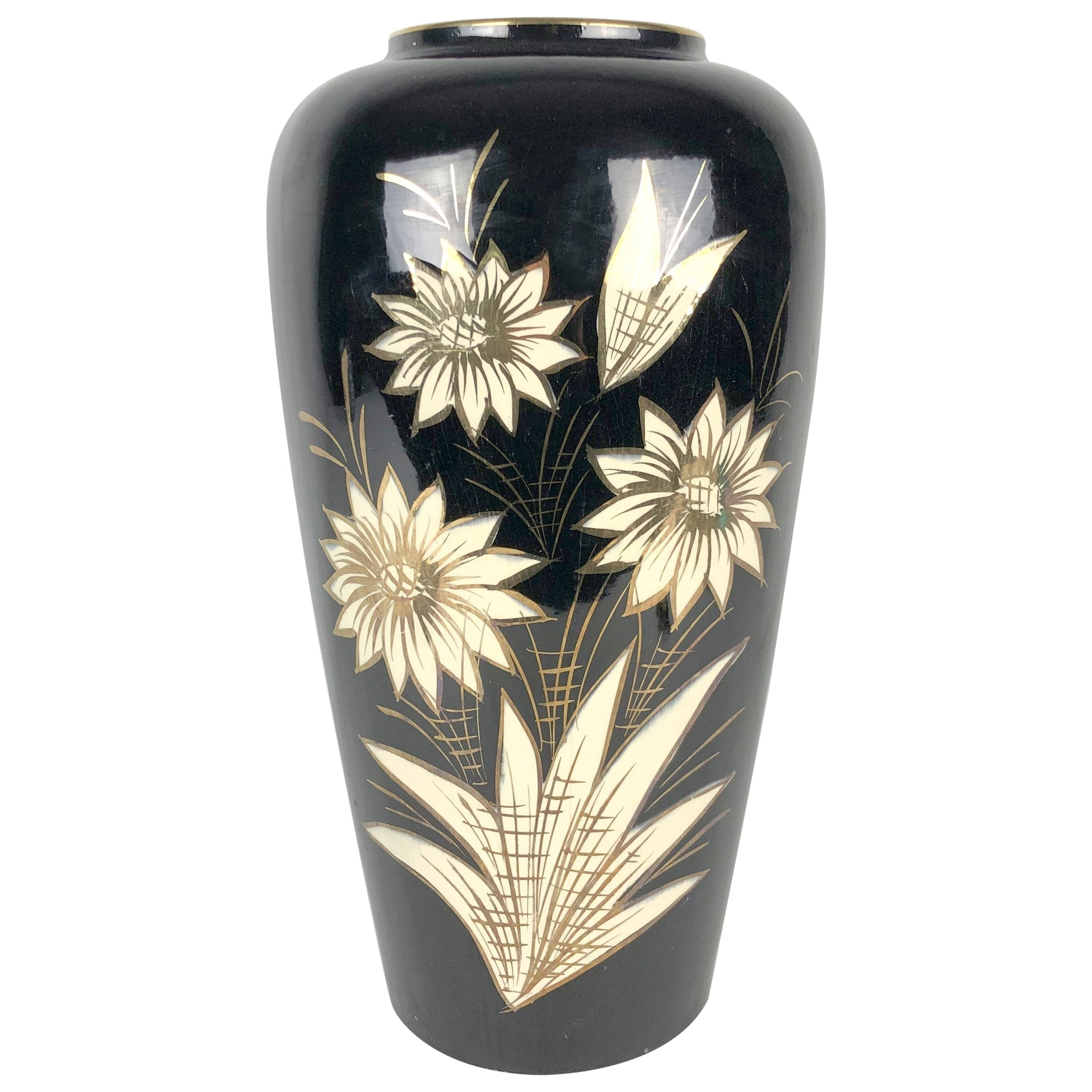 Large Ceramic Vase by Scheurich, Germany 1960s