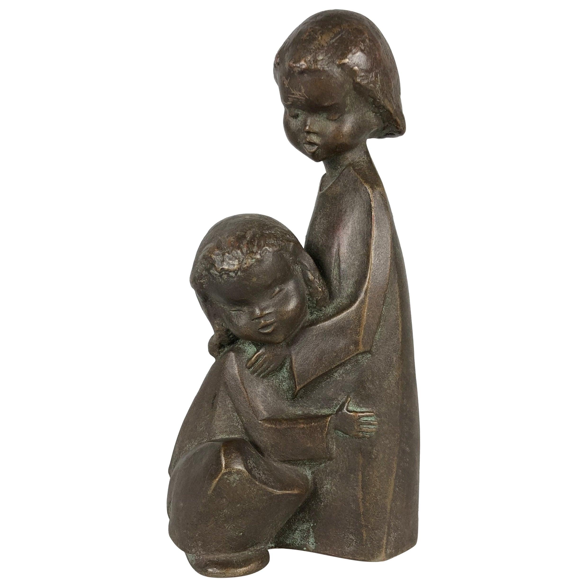 Vintage Handmade Achatit Sculpture, Germany, 1970s