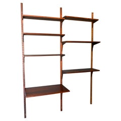 Rosewood 2 Bay Wall Unit by Poul Cadovius, ca. 1970