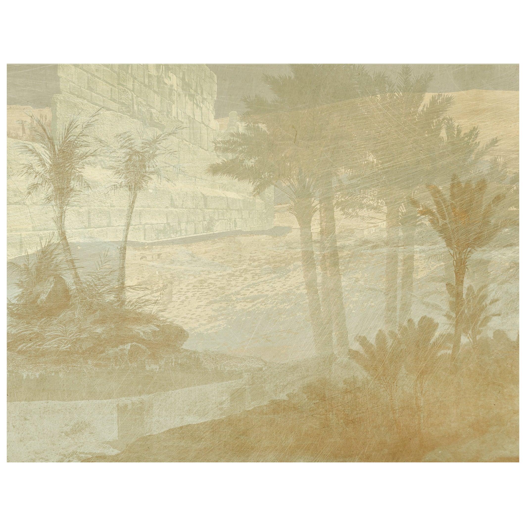 Aux portes de l'Atlas - custom mural wallpaper (color sand)