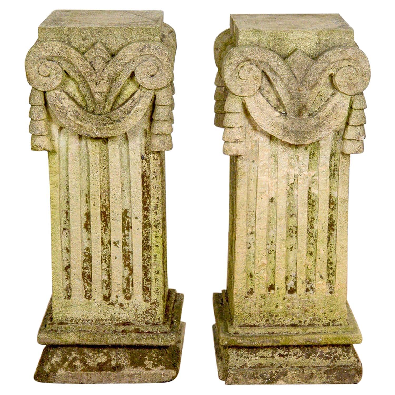 Classical Style Pedestals / Plinths, 20th Century