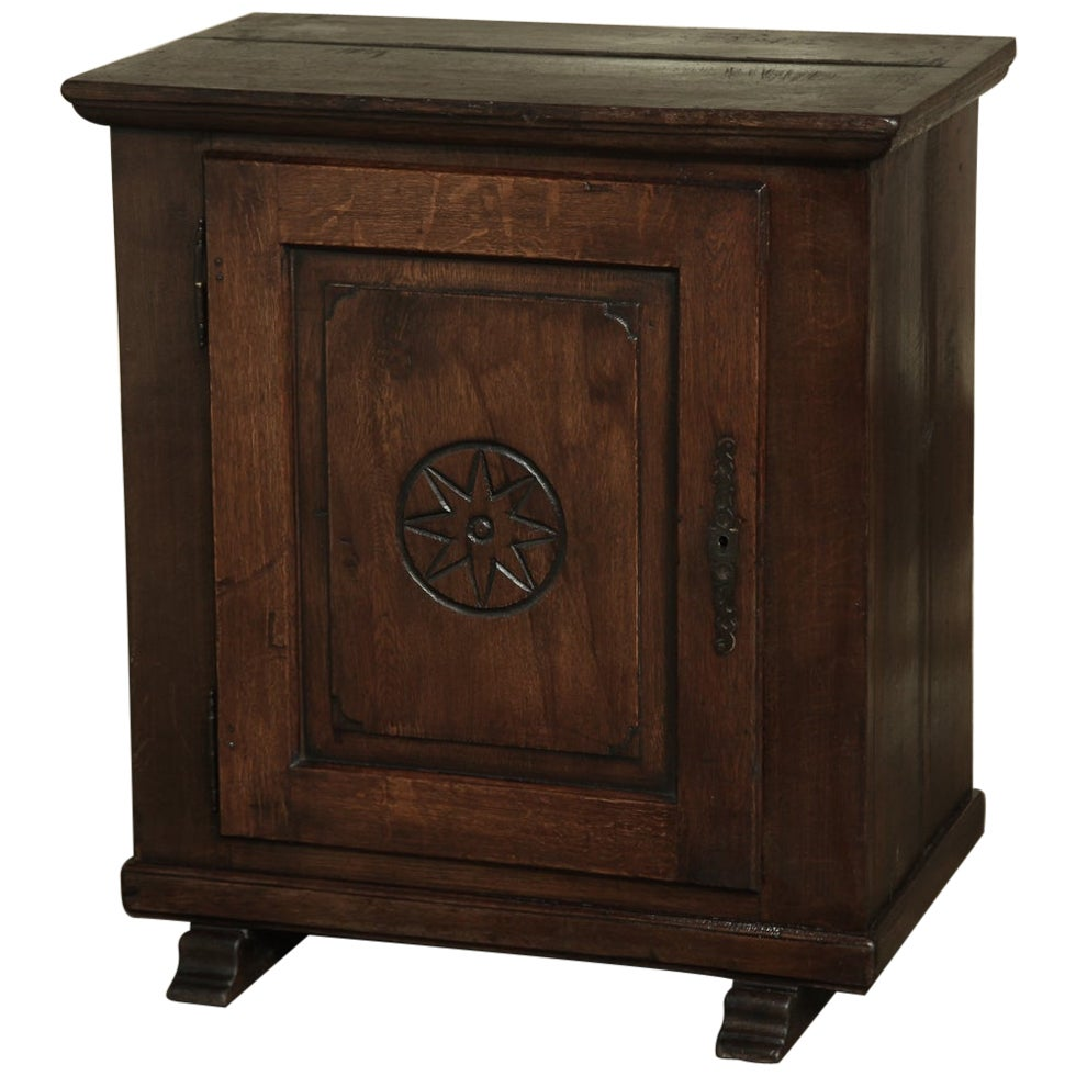 19th Century Rustic Dutch Cabinet, Confiturier