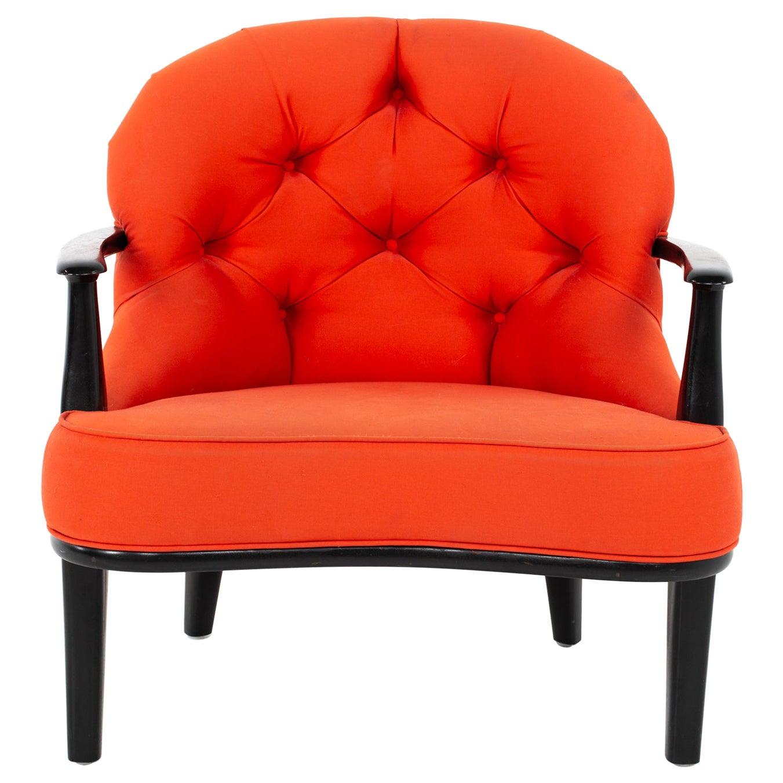 Edward Wormley for Dunbar Janus Style Mid Century Lounge Chair