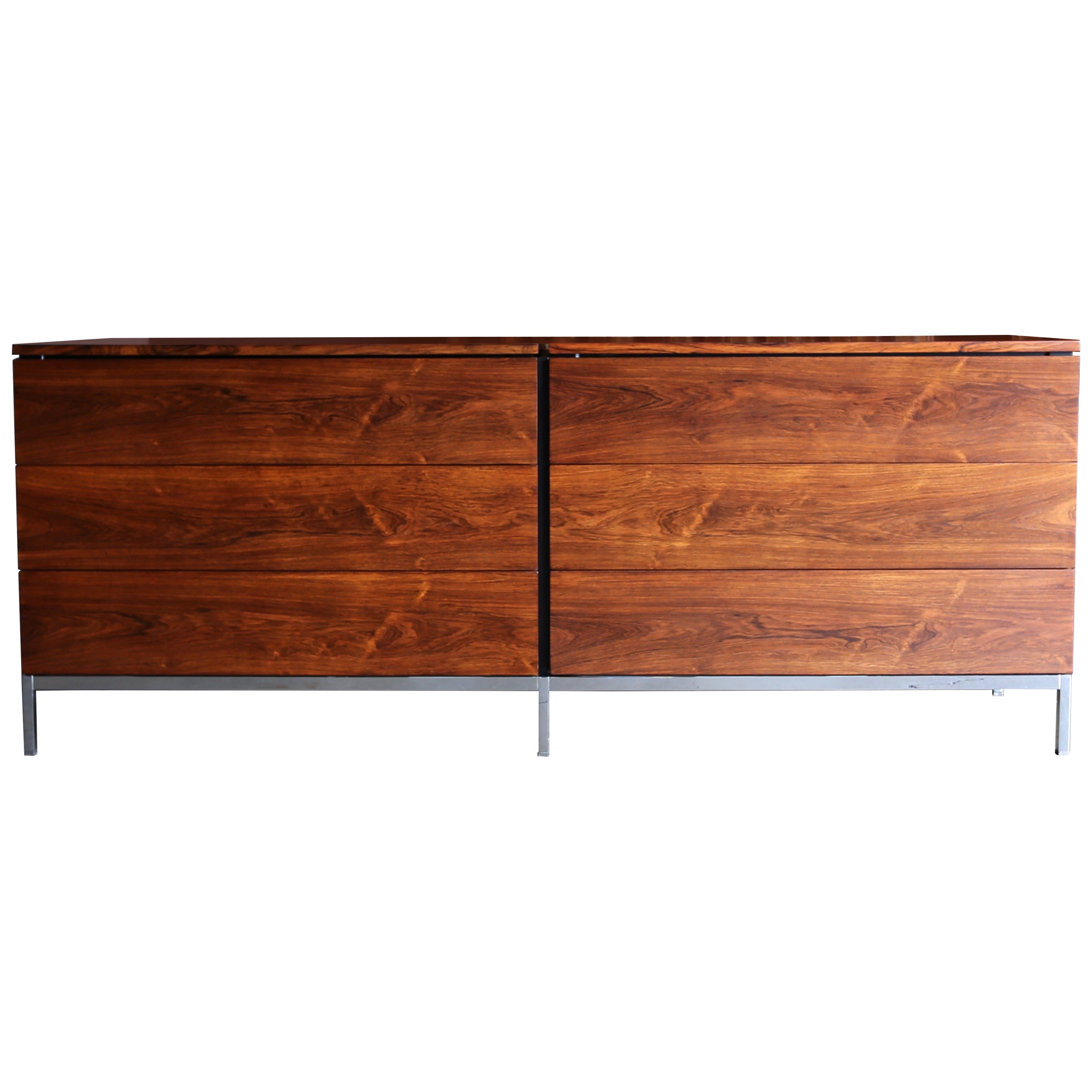Florence Knoll Rosewood Chest for Knoll, circa 1960