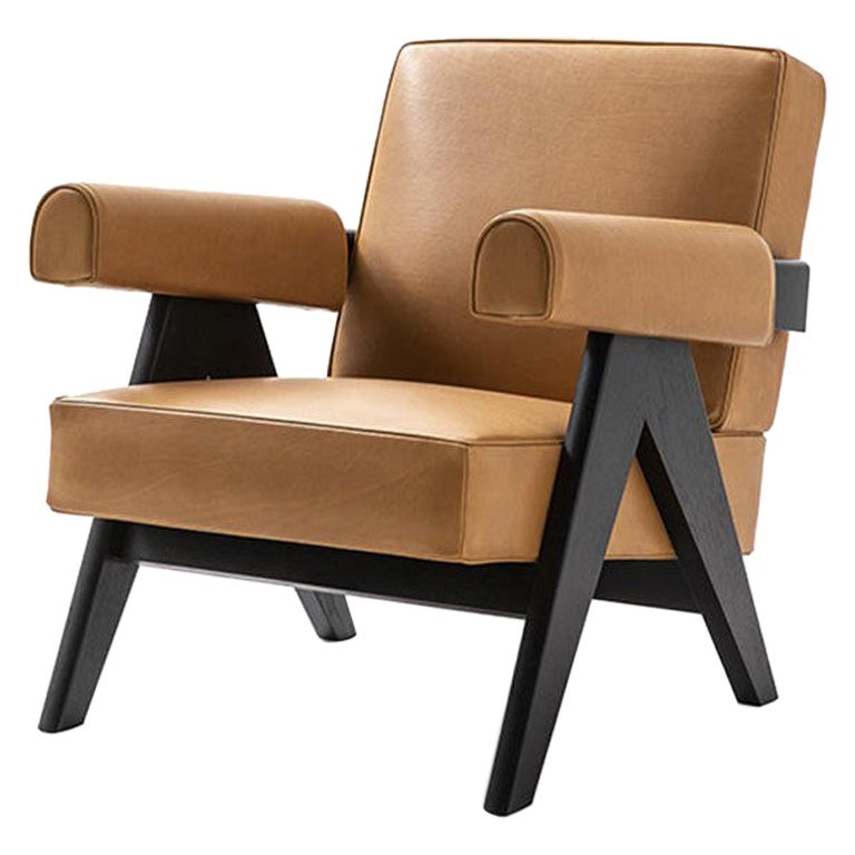 Pierre Jeanneret 053 Capitol Complex Armchair by Cassina