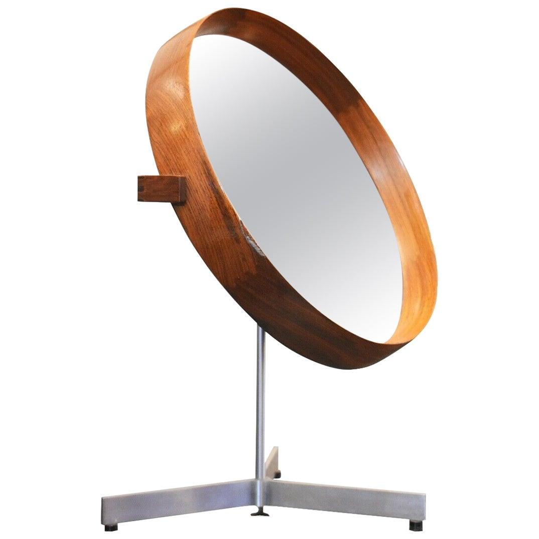 1960s Table Mirror by Uno & Osten Kristiansson for Luxus, Sweden