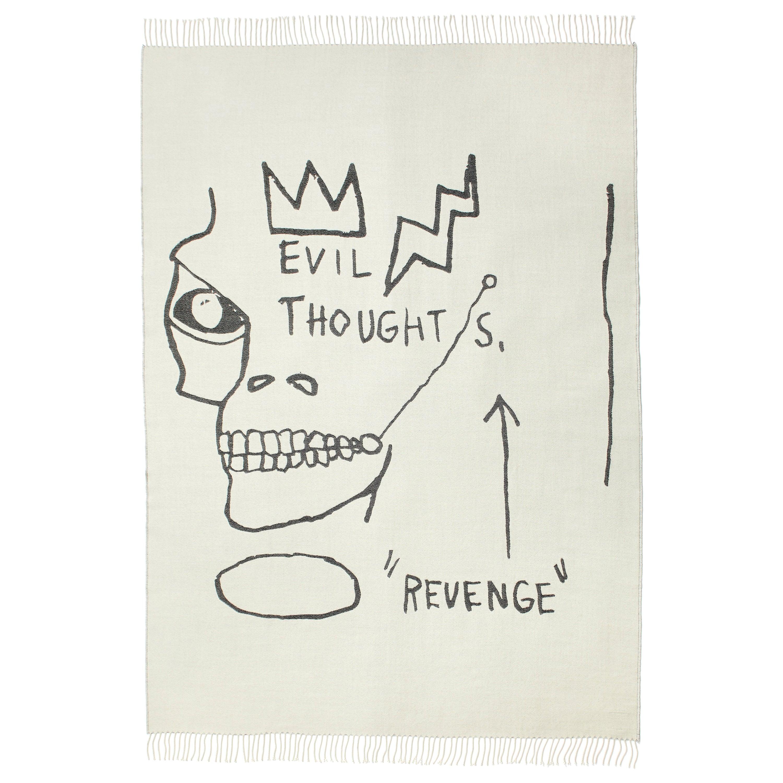 Throw / Blanket by Jean-Michel Basquiat