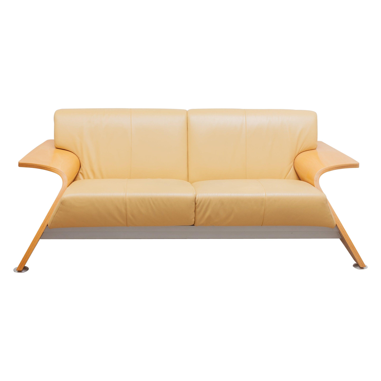 Postmodern Italian 1980s Sofa, Two-Seat