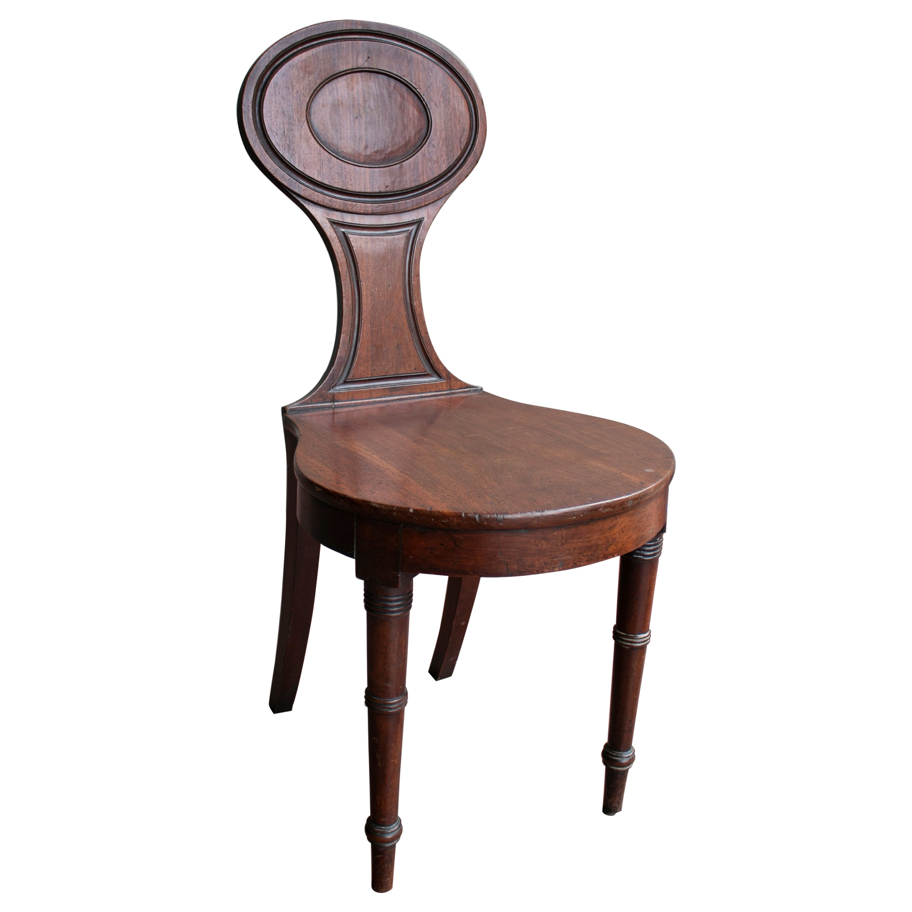 1920s English Smokers Wooden Chair