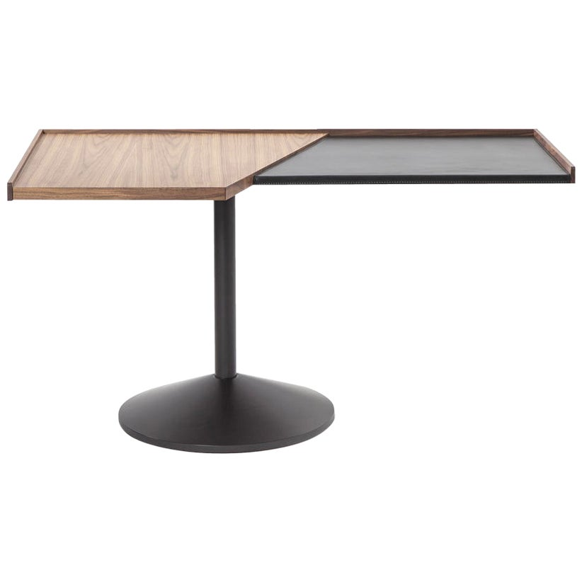 Franco Albini Table 840 Stadera Wood and Steel by Cassina