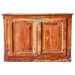 19th Century French Country Sideboard Cabinet