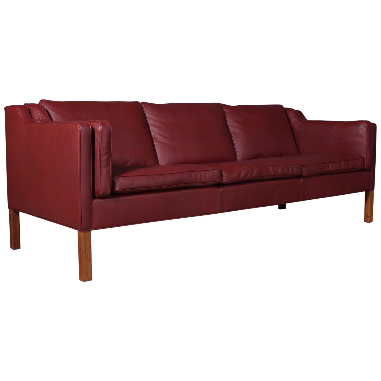 Børge Mogensen Three-Seat Sofa, Model 2213
