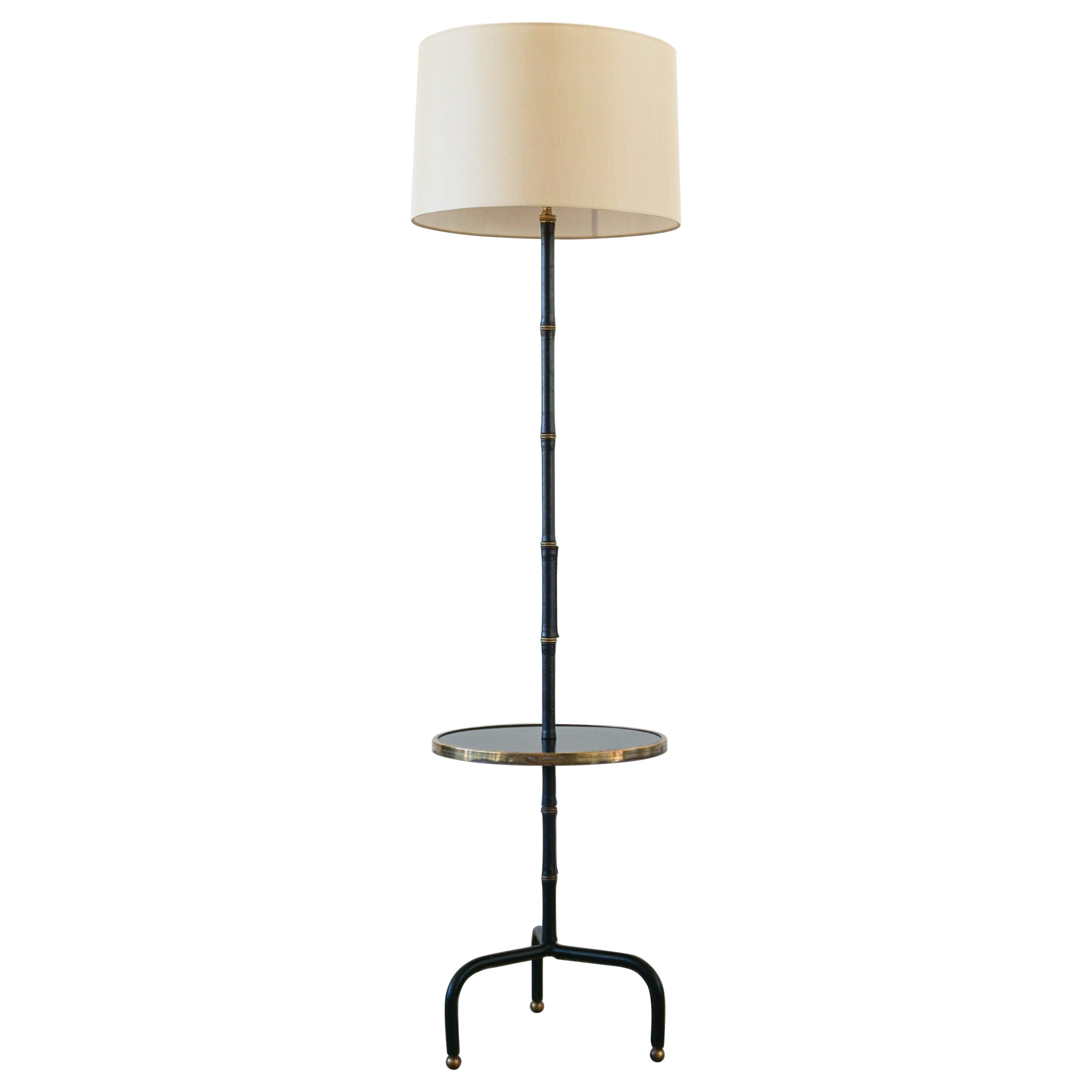 Jacques Adnet Table Floor Lamp