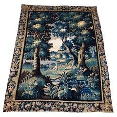 18th Century Aubusson Verdure Landscape Tapestry