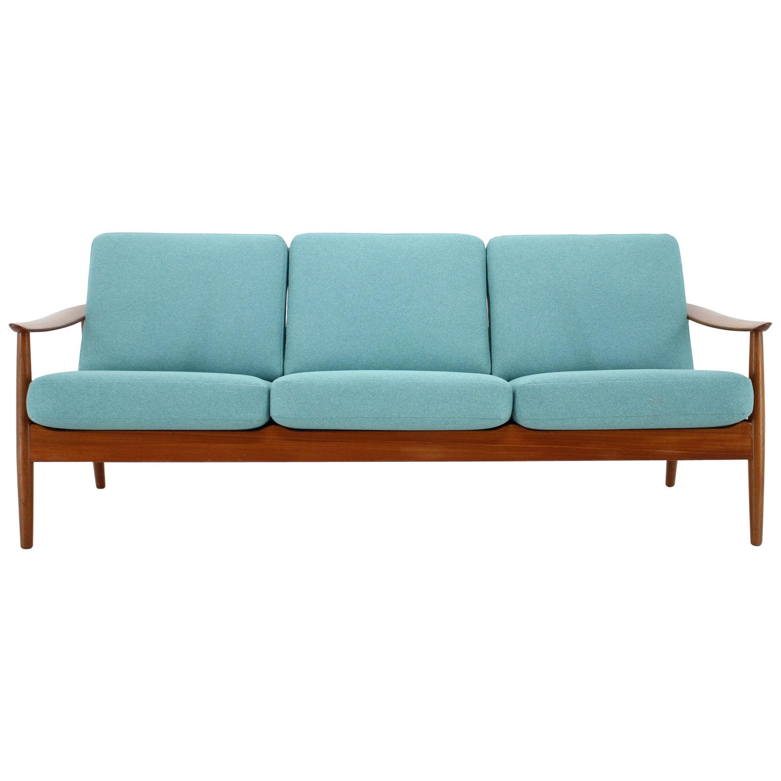 1960s Arne Vodder 3-Seat Sofa for France & Søn, Denmark