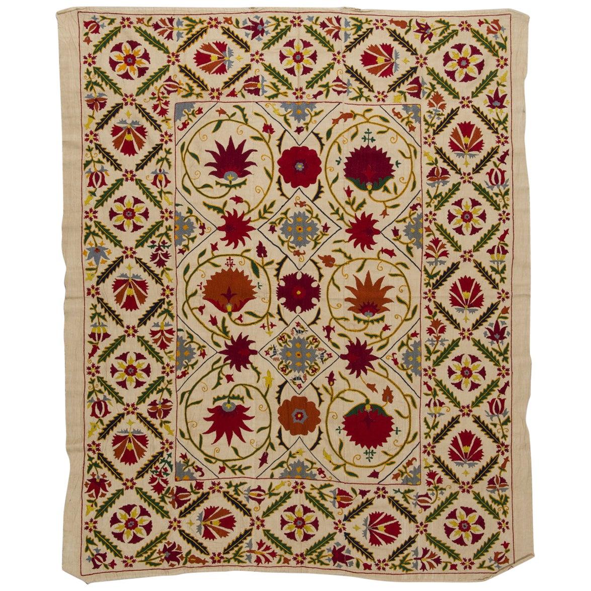 Old Silk SUSANI Embroidery