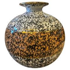 1970s Mid-Century Modern Ceramic Italian Vase