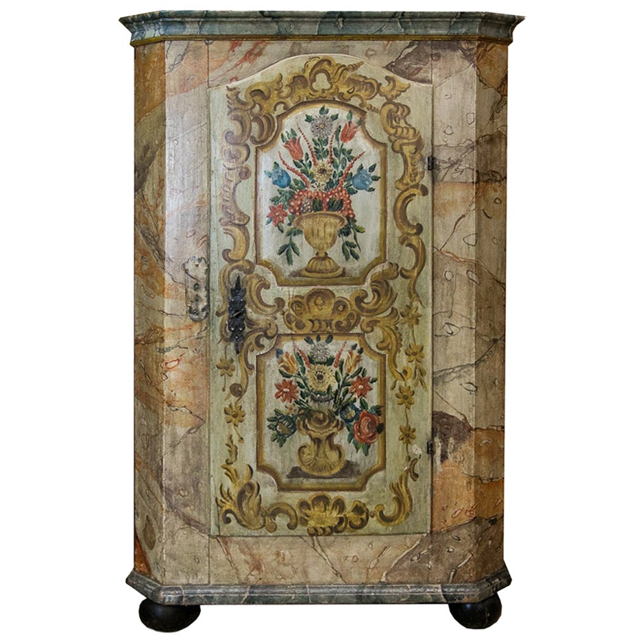 Painted European Armoire