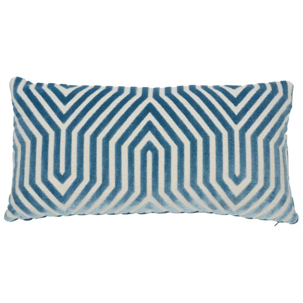 Schumacher Vanderbilt Velvet Pillow