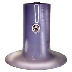 Murano Art Glass Purple Pendant by Alessandro Pianon for Vistosi, 1960s, Italy