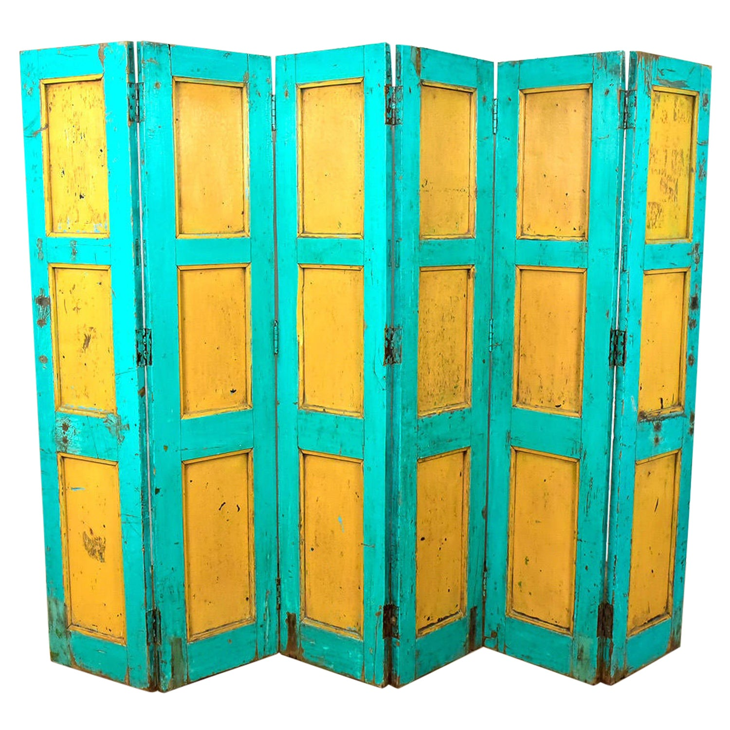 Reclaimed Room Divider / Panelling, 20th Century