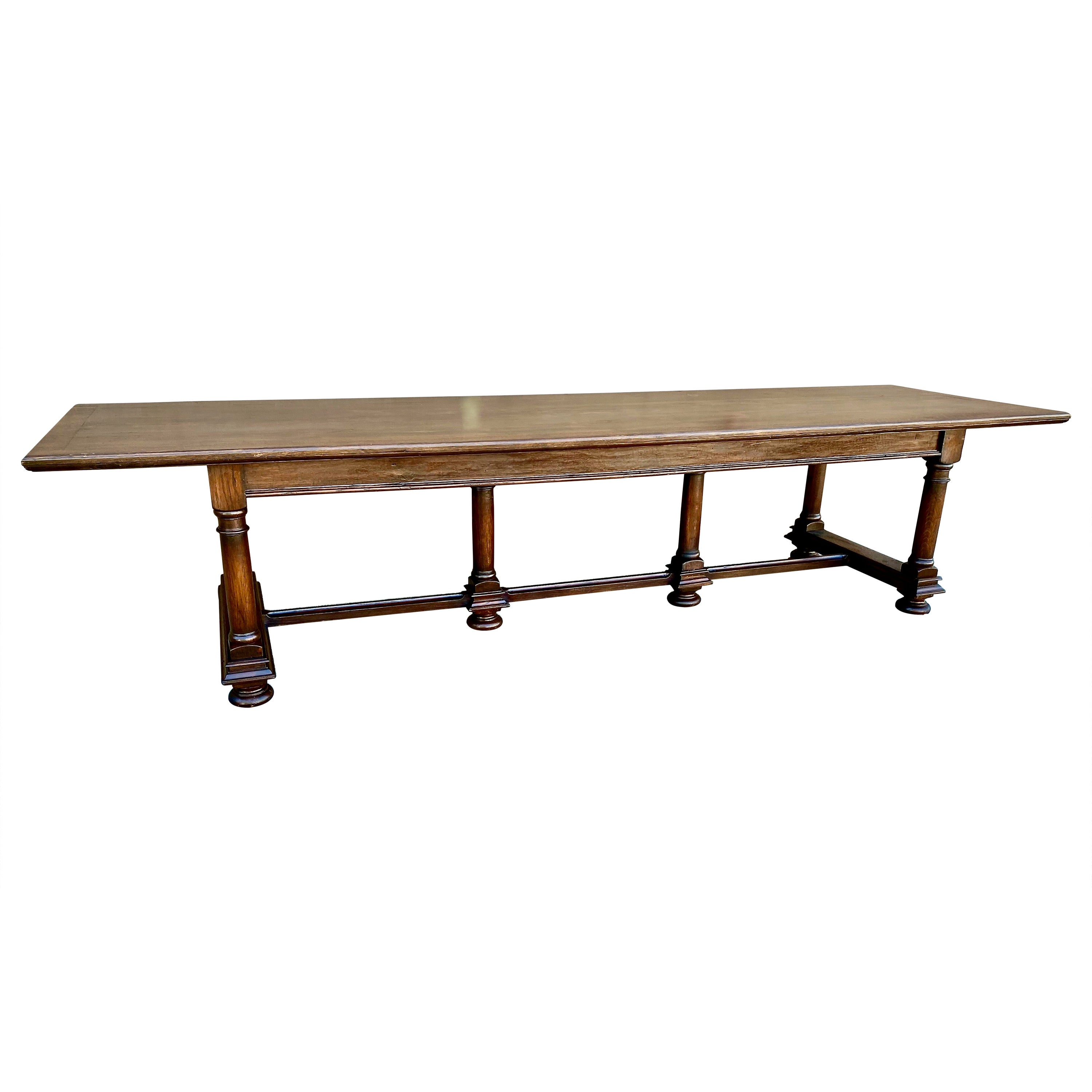 Baroque-Style Refectory Table