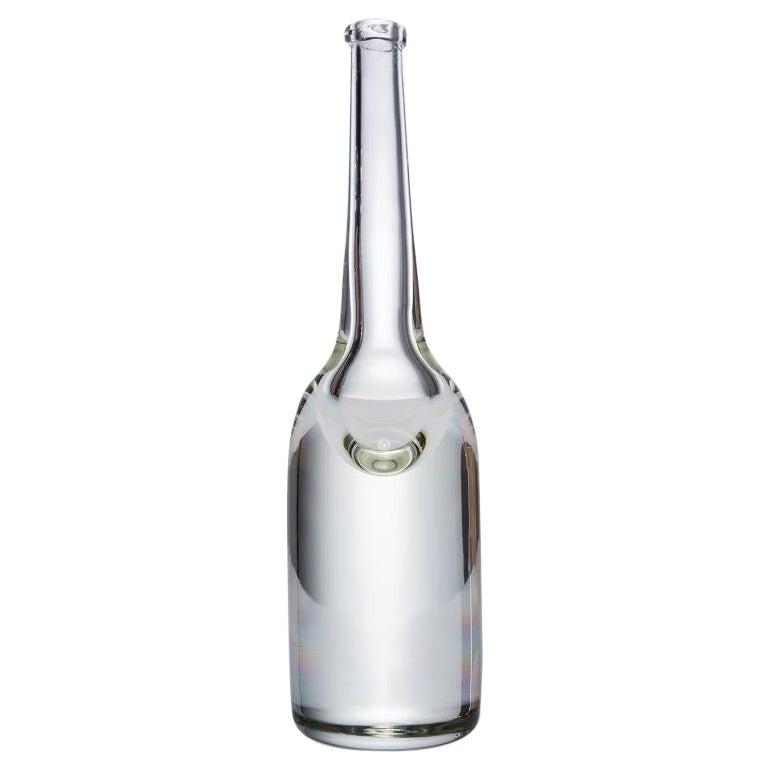 HOLLY HUNT Handmade 805 Long Neck Solid Crystal Vase by Alison Berger Glassworks
