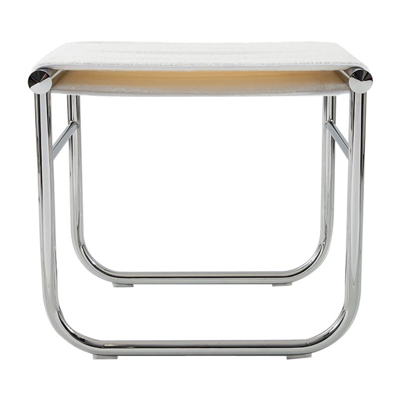 Charlotte Perriand LC9 Stool by Cassina