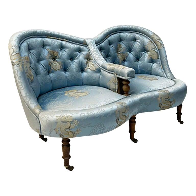 19th Century French 2-Seat Sofa