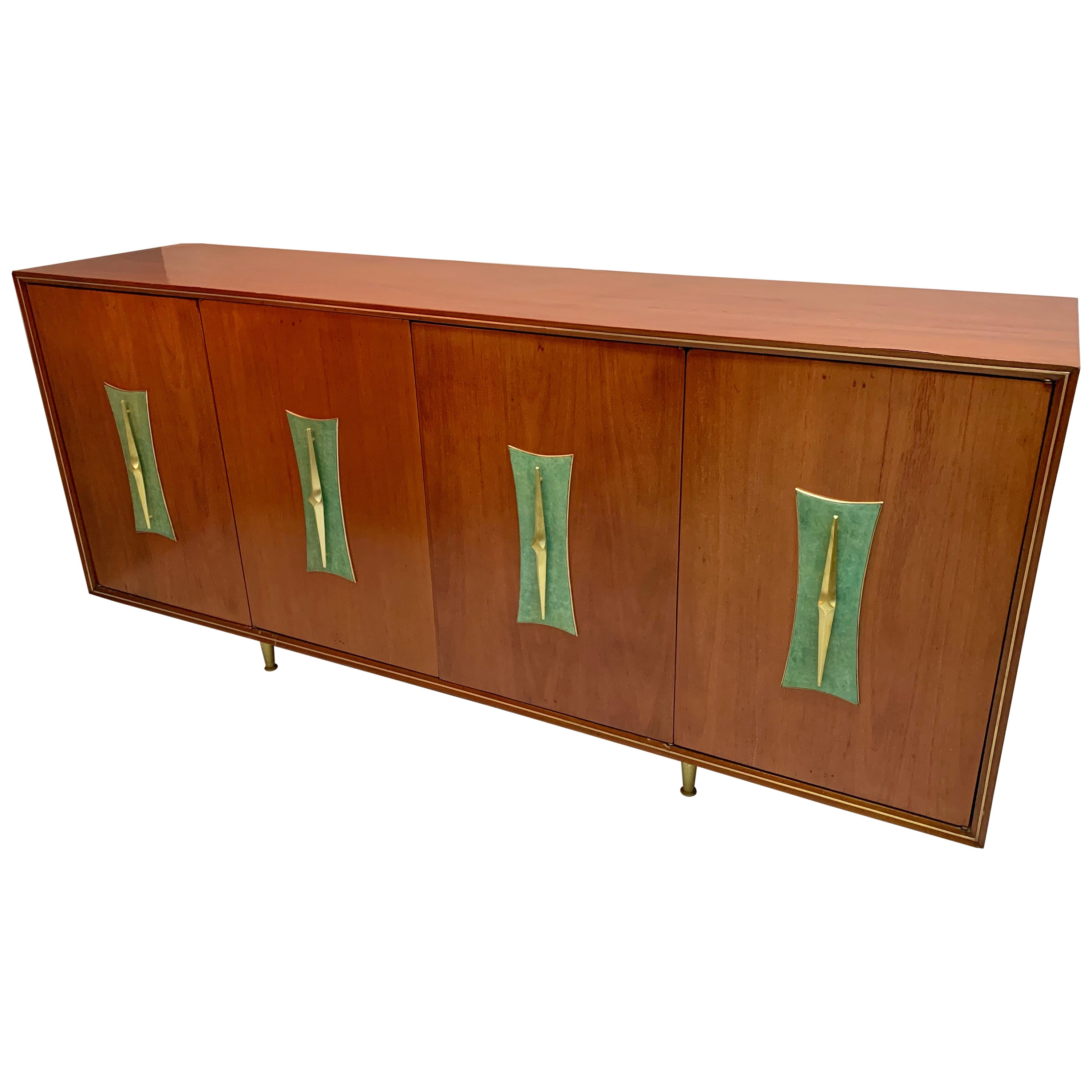 Mid-Century Modern Record Console Stereo