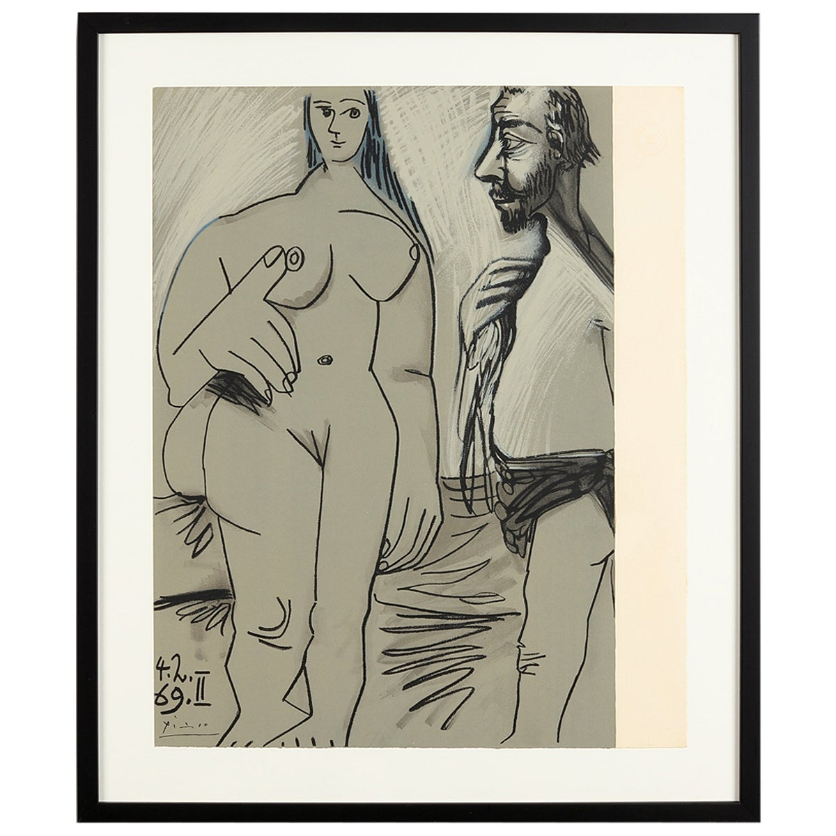 Pablo Picasso 'after' from Au Baiser d'Avignon