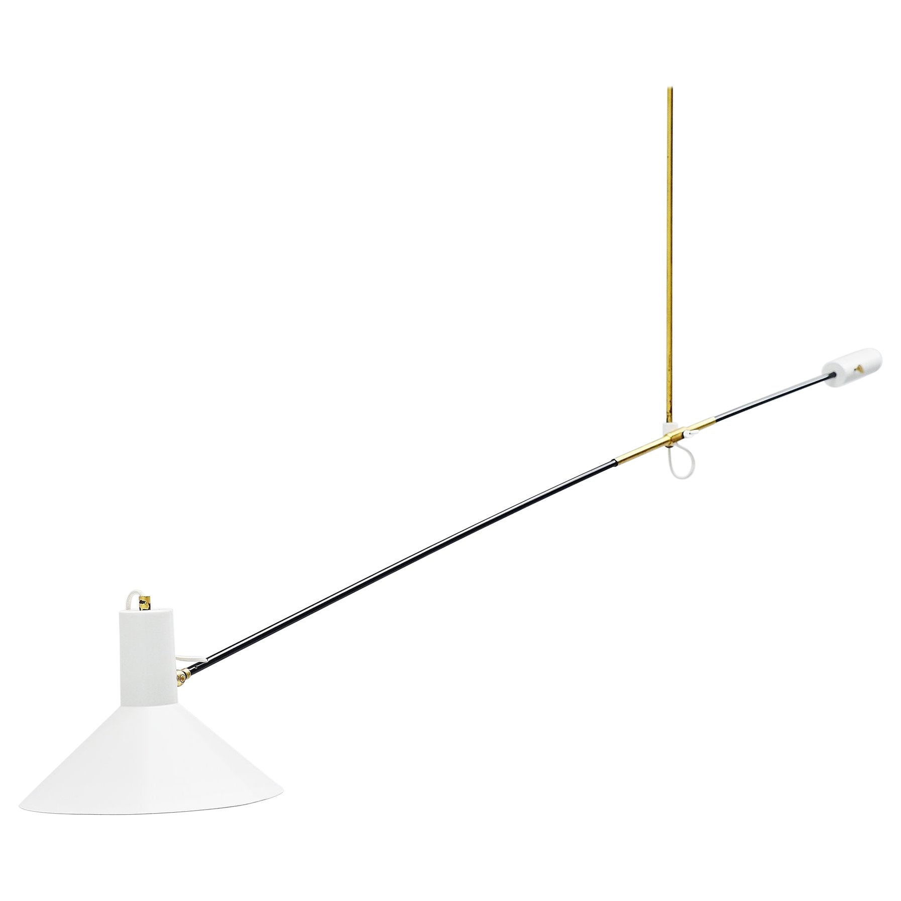 Anvia Counter Balance Ceiling Lamp JJM Hoogervorst, Holland, 1957