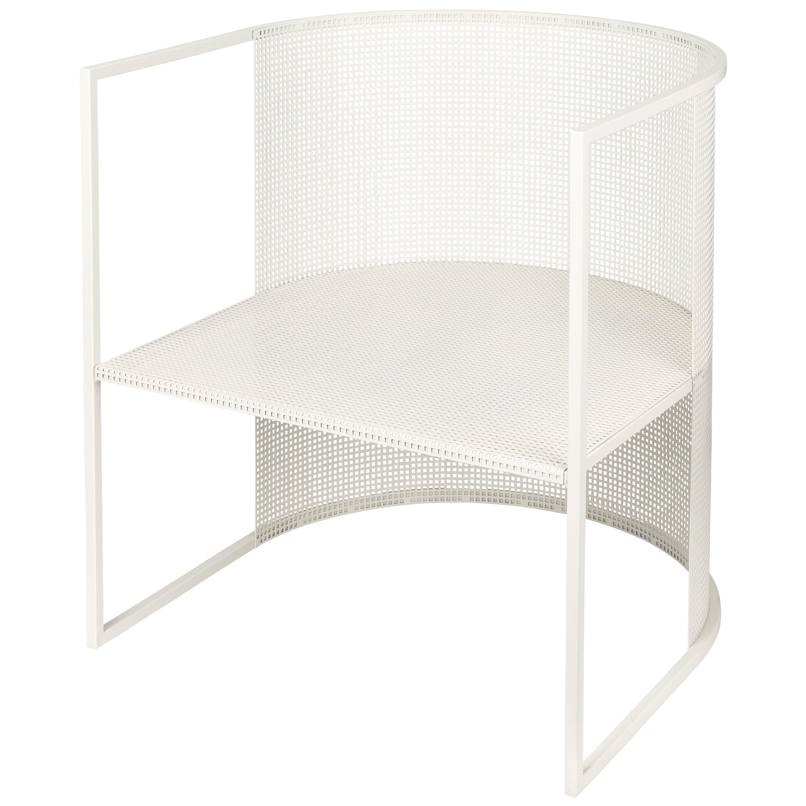 Steel Bahaus Lounge Chair by Kristina Dam Studio