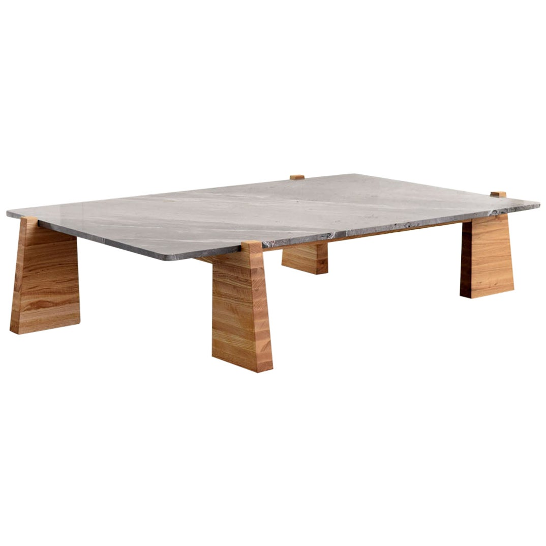 """""""Teoca"""" Coffee Table with Marble Top"""