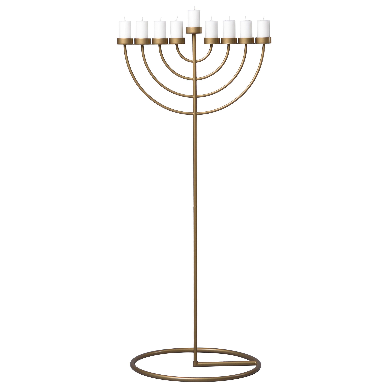 RADIUS candleholde 130cm, minimalistic Hanukkah menorah by Ivan Voitovych