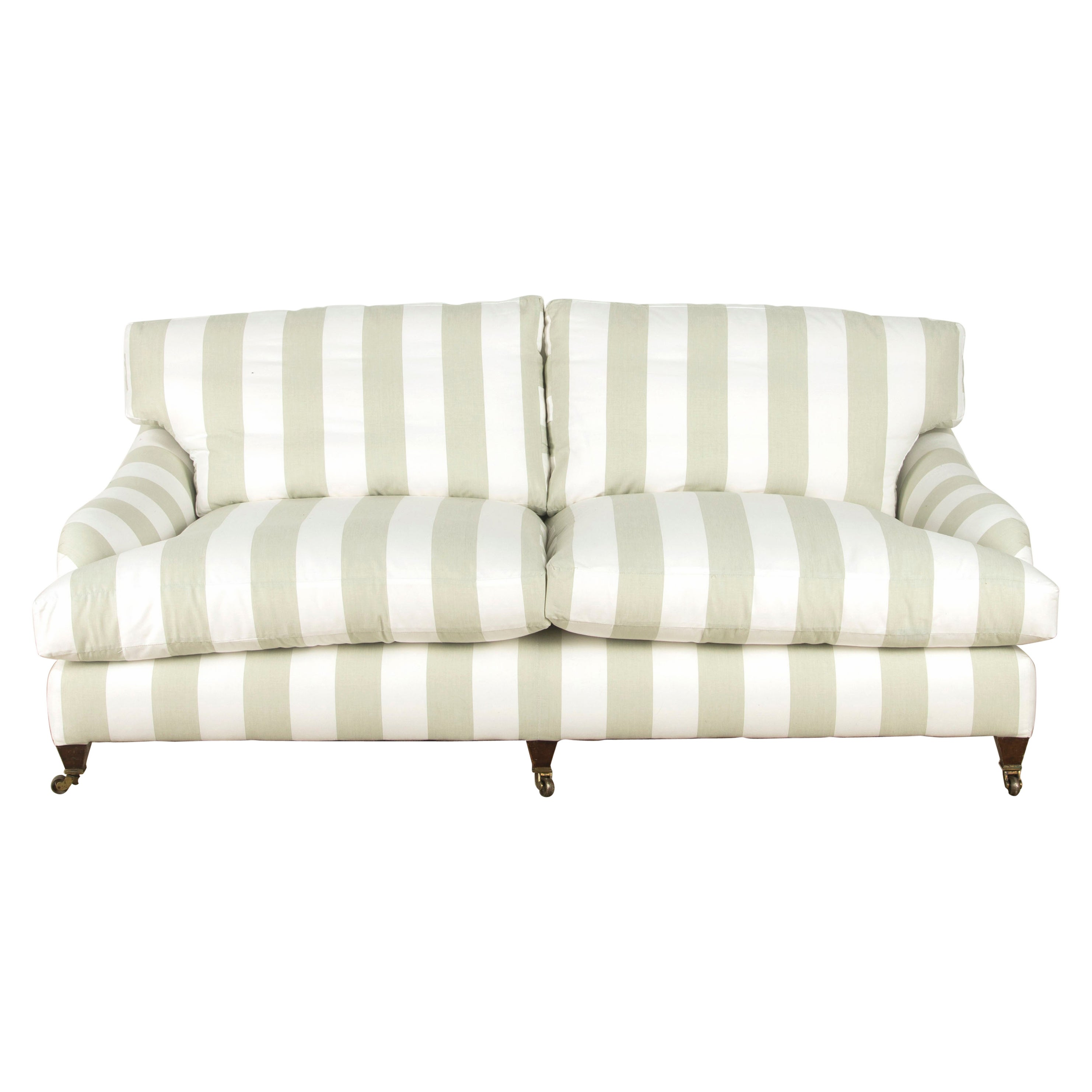 Late 19th Century English Howard Style Sofa