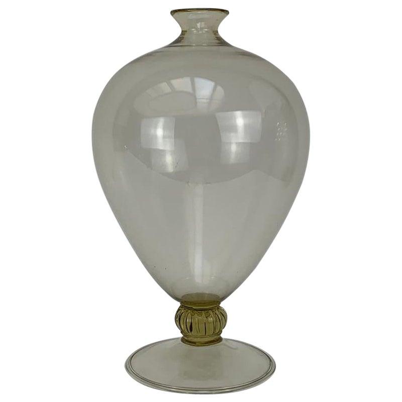 """Vittorio Zecchin for Venini Art Deco Blown Murano Glass """" Veronese """" Vase"""