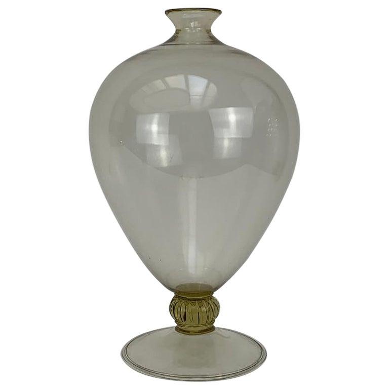 """Vittorio Zecchin for Venini Art Deco Blown Murano Glass """" Veronese """" Vase For Sale"""