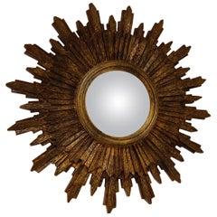 Midcentury Sunburst Mirror, 1960s