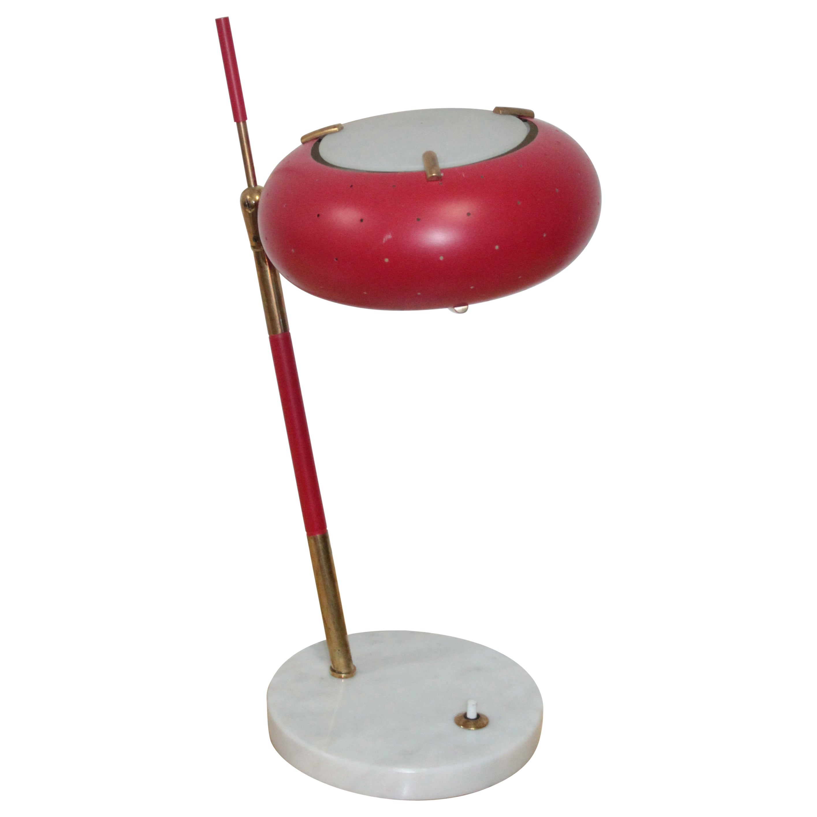 Midcentury Italian Desk Lamp by Stilux-Milano, 1950s