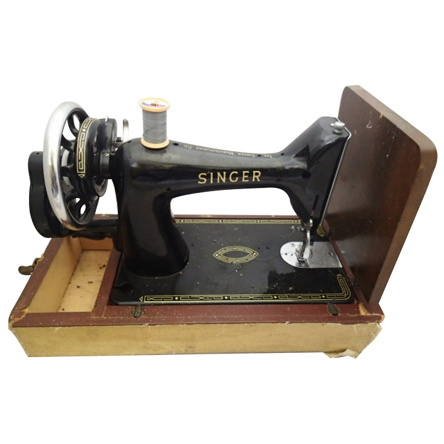 Vintage Singer Sewing Machine, 20th Century