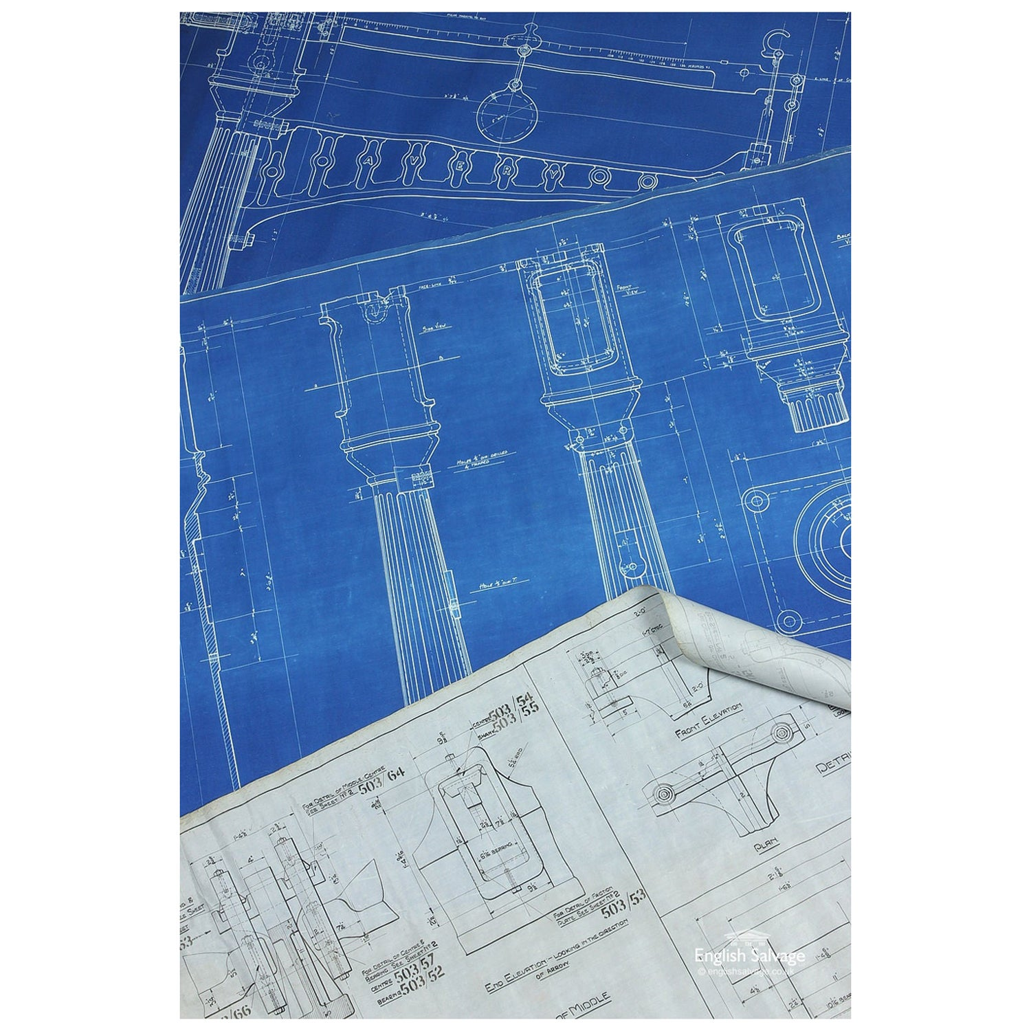 1920s Technical Drawings