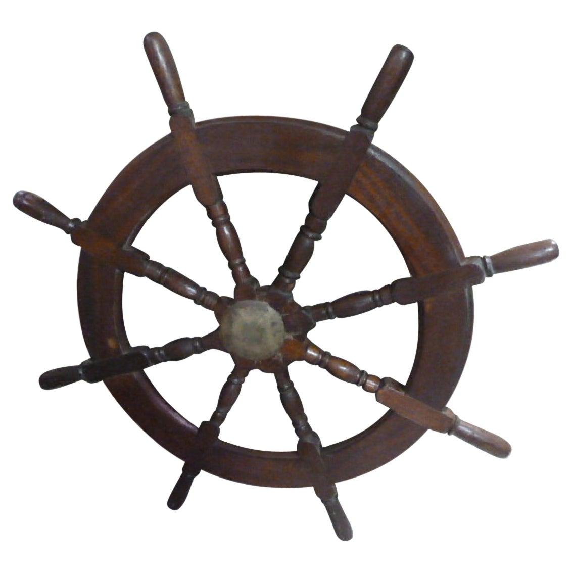 Original Ship's Wheel, 20th Century