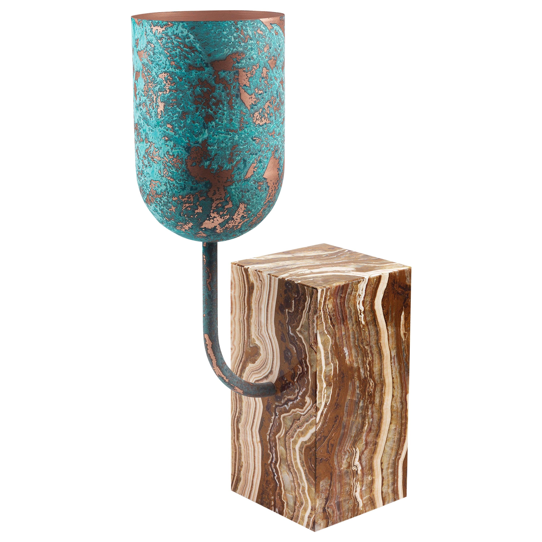 Aboram Tall Vase by Sam Baron
