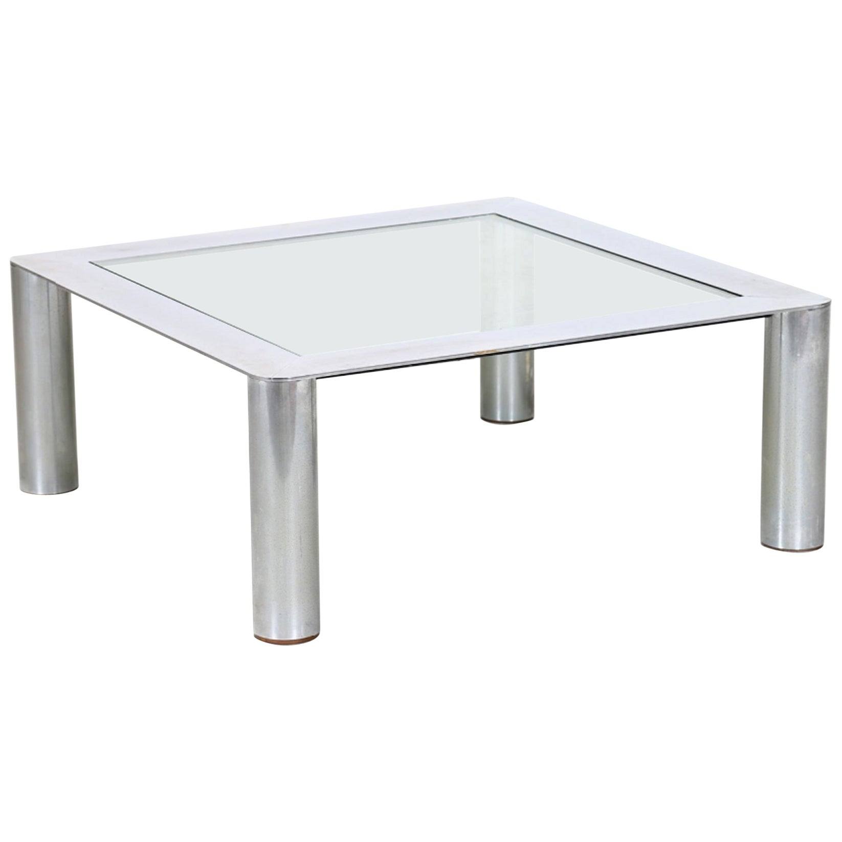 Vintage Cassina Coffee Table by Gianfranco Frattini, 1970s