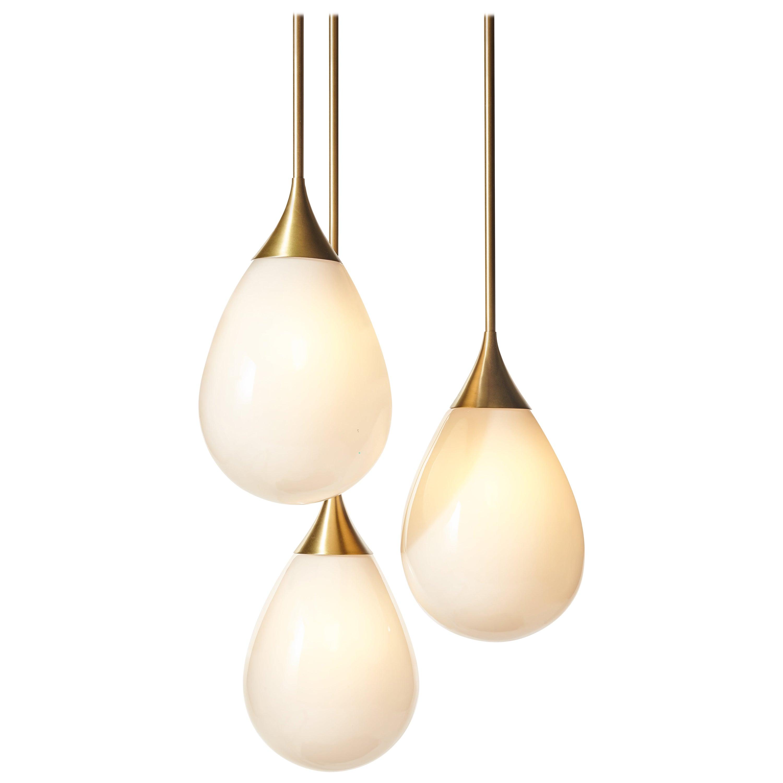 Triple Teardrop Pendant Light by Konekt Furniture