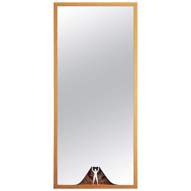 Modern Ron Gilad for Dilmos Limited Edition Rectangular Mirror Figurine