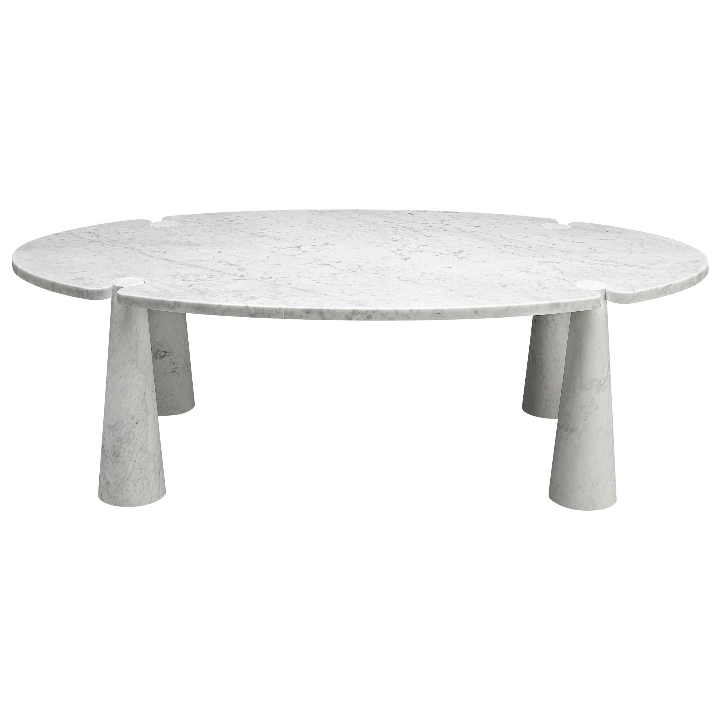 Angelo Mangiarotti 'Eros' Marble Dining Table