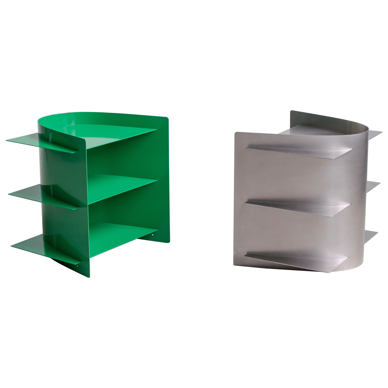 Set of 2 Tension Side Table, Paul Coenen