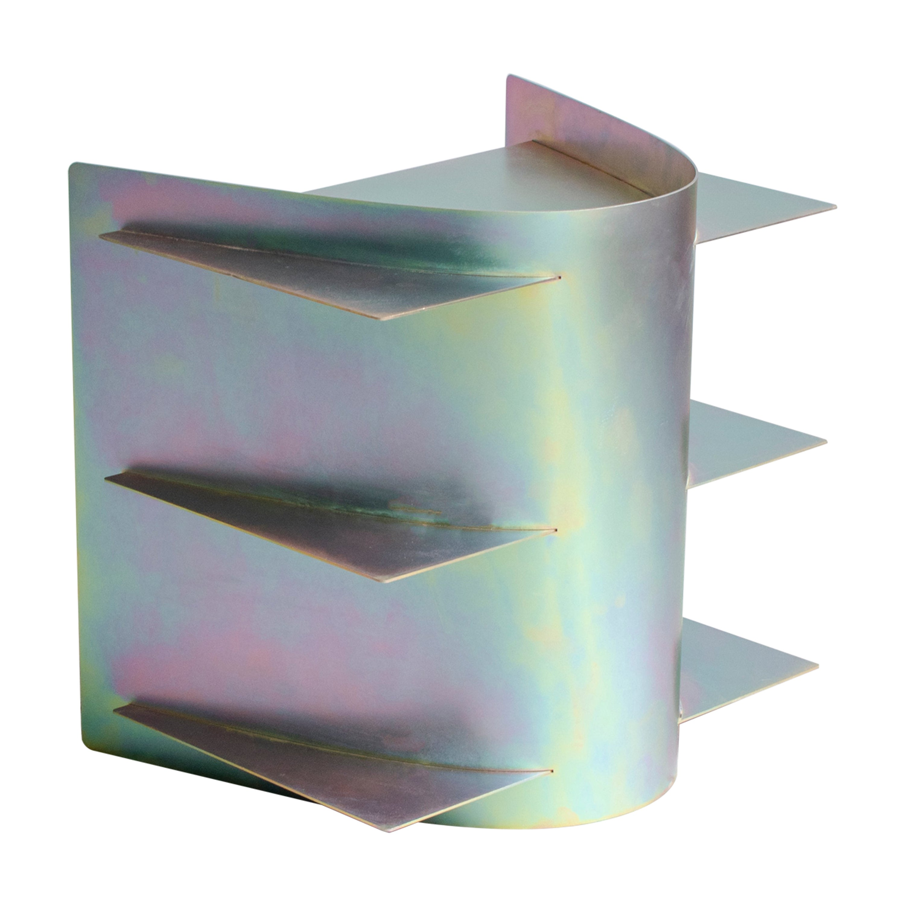 Iridescent Tension Side Table, Paul Coenen